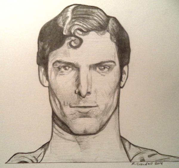 Christopher Reeve by RobCrandall